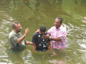 kevin's baptism